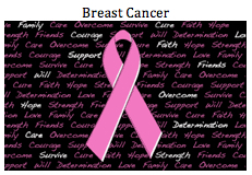 Flag-Breast Cancer