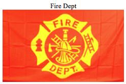 Flag-Fire Dept