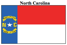 Flag-North Carolina